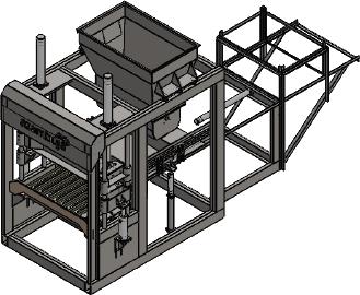 Máquina para Blocos e Pisos – CBA-22