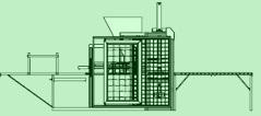 Máquina para Blocos e Pisos – SBA-2 – CBA-2